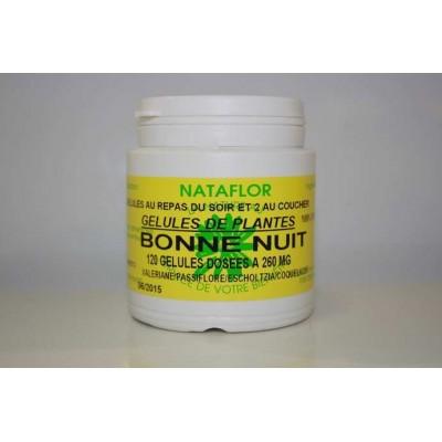 Bonne nuit 120 gélules 260 mg poudre pure