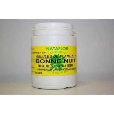 bonne nuit 240 gélules 260 mg poudre pure