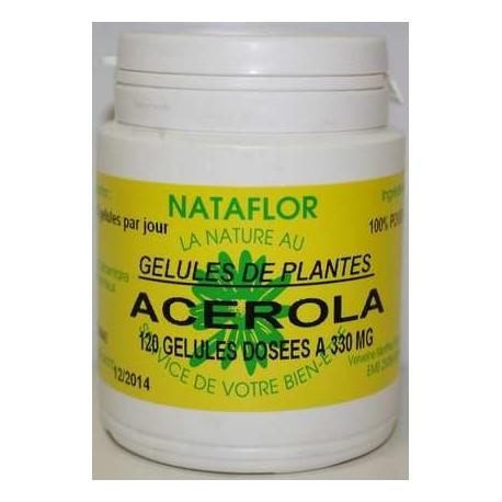 GELULES ACEROLA 330 mg.