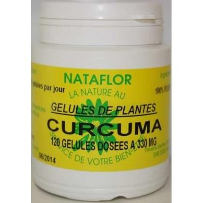 GELULES CURCUMA 120 gélules dosées à 330 mg poudre pure