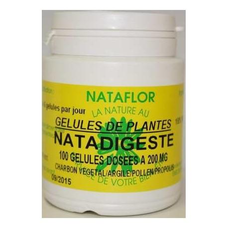 NATADIGESTE 100 gélules dosées à 400 mg.