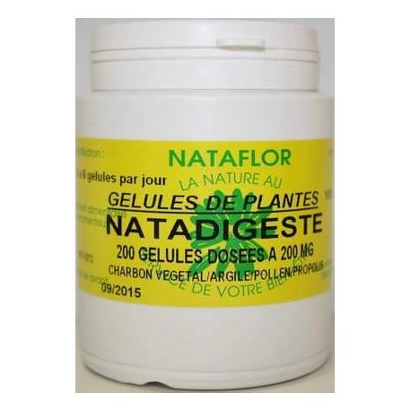 NATADIGESTE 200 gélules dosées à 400 mg.