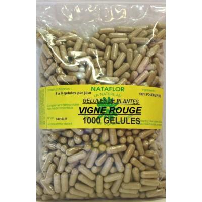 GELULES VIGNE ROUGE feuille 250 mg 1000 GELULES