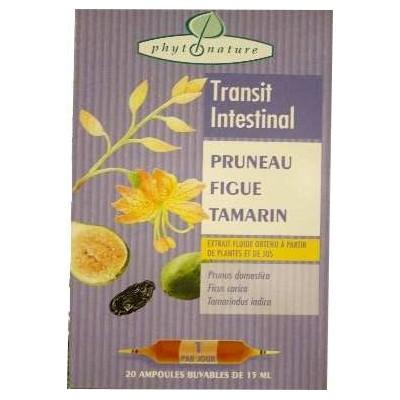 Ampoules de plantes pruneau+figue+tamarin
