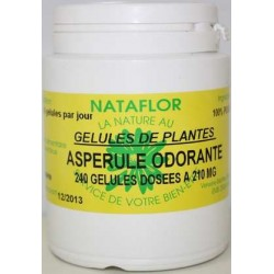 GELULES ASPERULE odorante 210 mg.