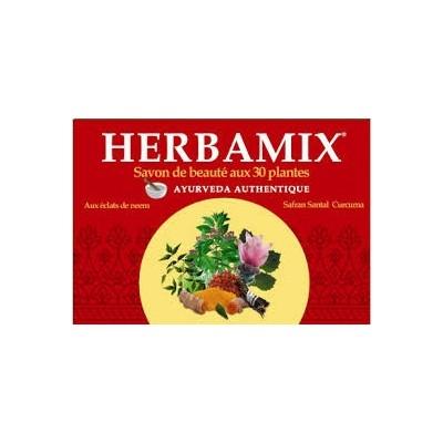 SAVON HERBAMIX AUX 30 PLANTES 125 GRS.
