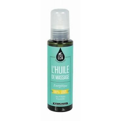 Huile de Massage Energétique aux Huiles Essentielles - LCA Aromathérapie