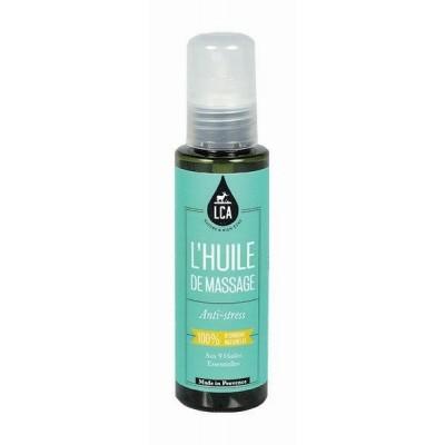 Huile de Massage Anti Stress aux Huiles Essentielles - LCA Aromathérapie