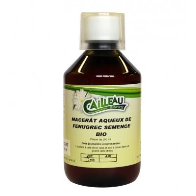 Macérat Aqueux de Fenugrec - Semence Bio - Flacon de 250 ml - Cailleau