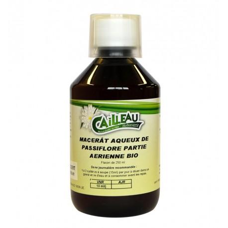 Macérat Aqueux de Passiflore - Partie Aérienne Bio - Flacon de 250 ml - Cailleau