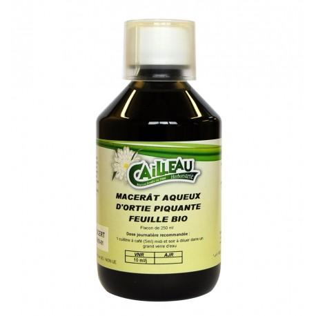 Macérat Aqueux d'Ortie Piquante - Feuille Bio - Flacon de 250 ml - Cailleau