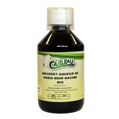 Macérat Aqueux de Radis Noir - Racine Bio - Flacon de 250 ml - Cailleau