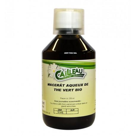 Macérat Aqueux de Thé Vert Bio - Flacon de 250 ml - Cailleau