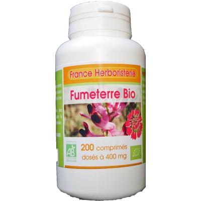 FUMETERRE BIO AB 200 comprimés dosés à 400 mg en comprimés.