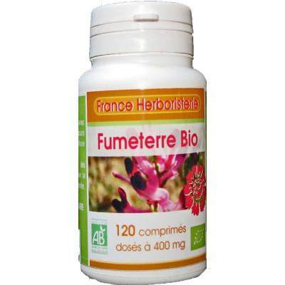 FUMETERRE BIO AB 120 comprimés dosés à 400 mg en comprimés.