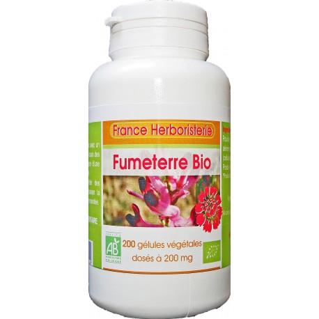 200 gélules FUMETERRE BIO AB dosées à 200 mg.