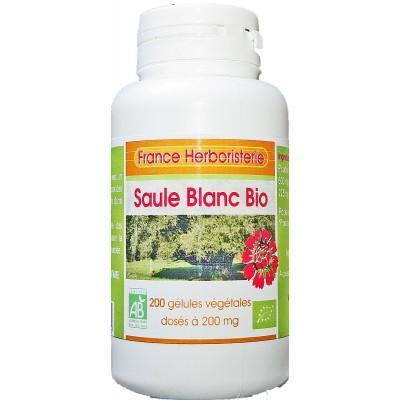 200 gélules SAULE BLANC BIO AB dosées à 200 mg