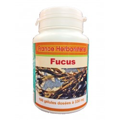 GELULES FUCUS vésiculeux 100 gélules doséés à 330 mg poudre pure.