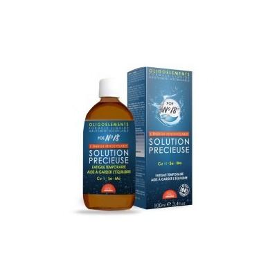 Solution précieuse POE N°18 - 100 ml - Laboratoires Bioligo.