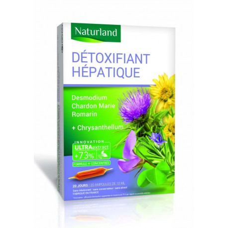 AMPOULES DETOXIFIANT HEPATIQUE.