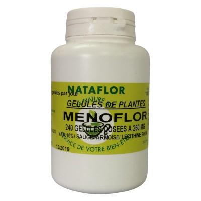 Menoflor 200 gélules à 260 mg poudre pure.