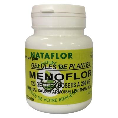 Menoflor 120 gélules à 260 mg poudre pure.