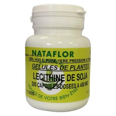 HUILE LÉCITHINE DE SOJA 200 capsules dosées à 450 mg