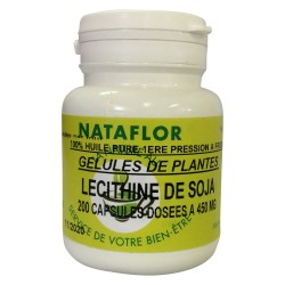 HUILE Lecithine de soja 450 mg