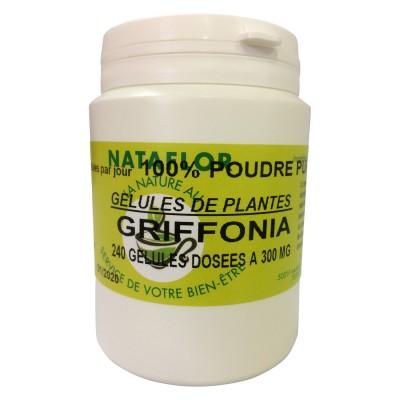 GELULES GRiFFONIA simplicifolia dosées à 300 mg. 240 gélules.