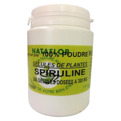 GELULES SPIRULINE 240 gélules dosées à 300 mg