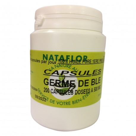 HUILE GERME DE BLE 500 mg.