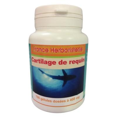 GELULES CARTILAGE DE REQUIN 100 gélules dosées à 400 mg