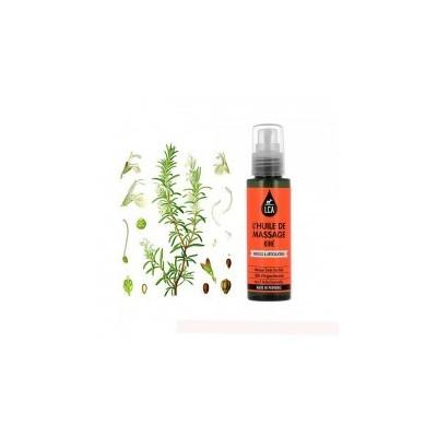 Huile de Massage Kiné aux Huiles Essentielles 100 ml - LCA Aromathérapie