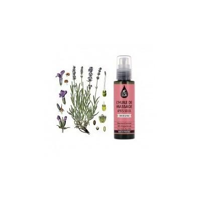 Huile de Massage Après Soleil aux Huiles Essentielles 100 ml - LCA Aromathérapie