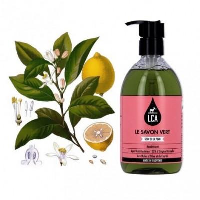 Savon Vert Liquide - LCA Aromathérapie