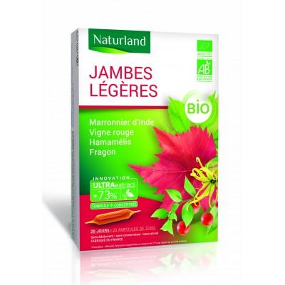 Ampoules de plantes marronnier d'inde+hamamelis+vigne rouge.