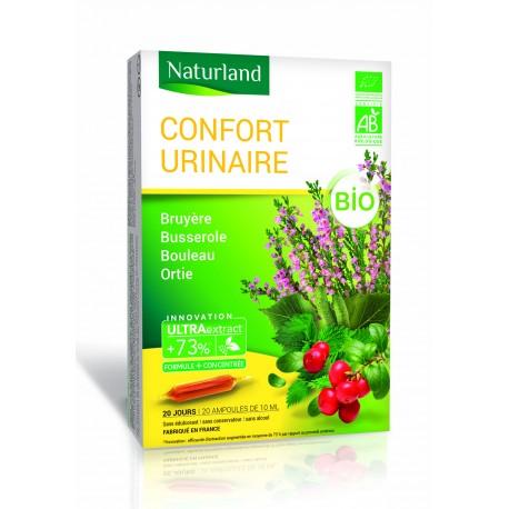 Ampoules de plantes: confort urinaire.