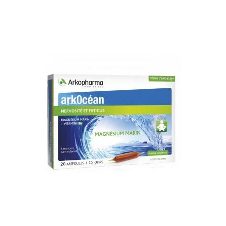Ampoules de magnésium marin + vitamine B6.