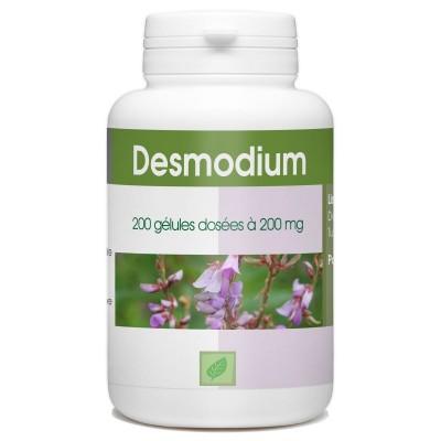 200 gélules DESMODIUM BIO AB dosées à 200 mg.