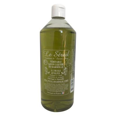 SAVON LIQUIDE DE MARSEILLE à l'huile d'olive 1 litre