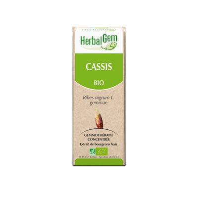 CASSIS HERBALGEM, votre élixir de vie 15 ml
