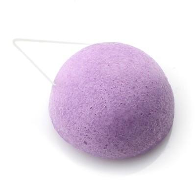 Éponge konjac visage à la violette