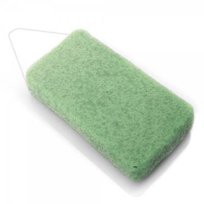 Éponge konjac corps XL à l'argile verte