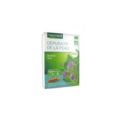 Dépuratif de la Peau Bio 20 Ampoules Buvables de 10 ml