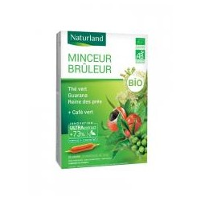 Minceur Brûleur Bio 20 Ampoules Buvables de 10 ml