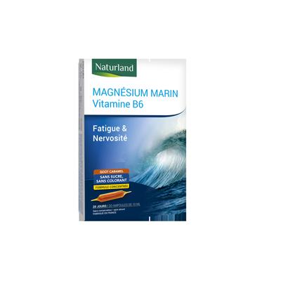 Magnésium marin vitamine B6 20 ampoules de 10 ml