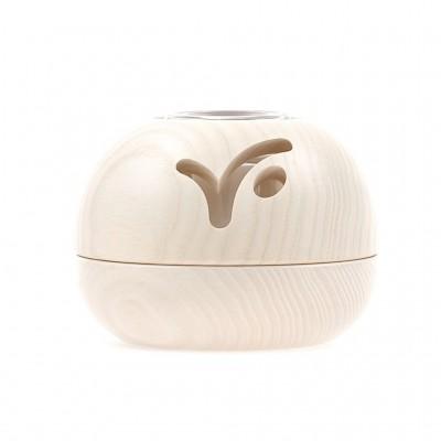 Diffuseur électrique Saturne bois blanchi