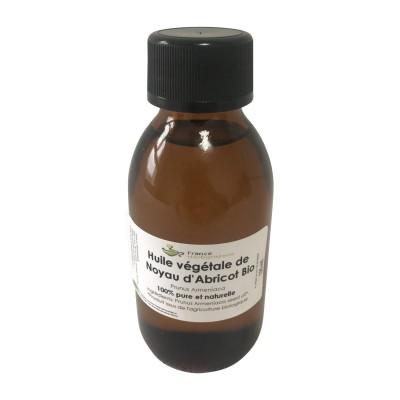 Noyau d'abricot Prunus armeniaca 125 ml HUILE VEGETALE BIO.