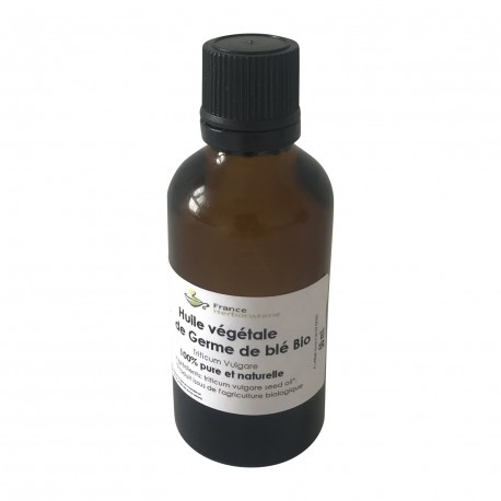 Germe de blé pur Triticum vulgare 50 ml HUILE VEGETALE