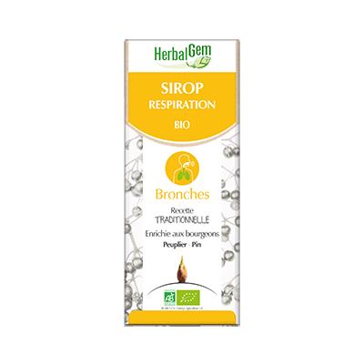 HERBALGEM SIROP RESPIRATION -encombrement des voies respiratoires - 250 mL